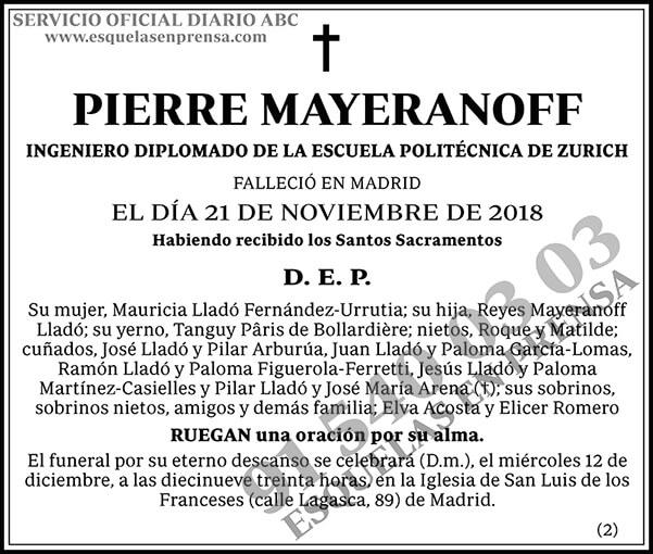 Pierre Mayeranoff
